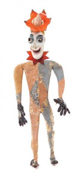Court Jester puppet from Alice in Wonderland