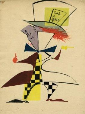Alice In Wonderland Mad Hatter Color Character Design