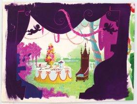 Alice in Wonderland Mad Hatter tea party set design