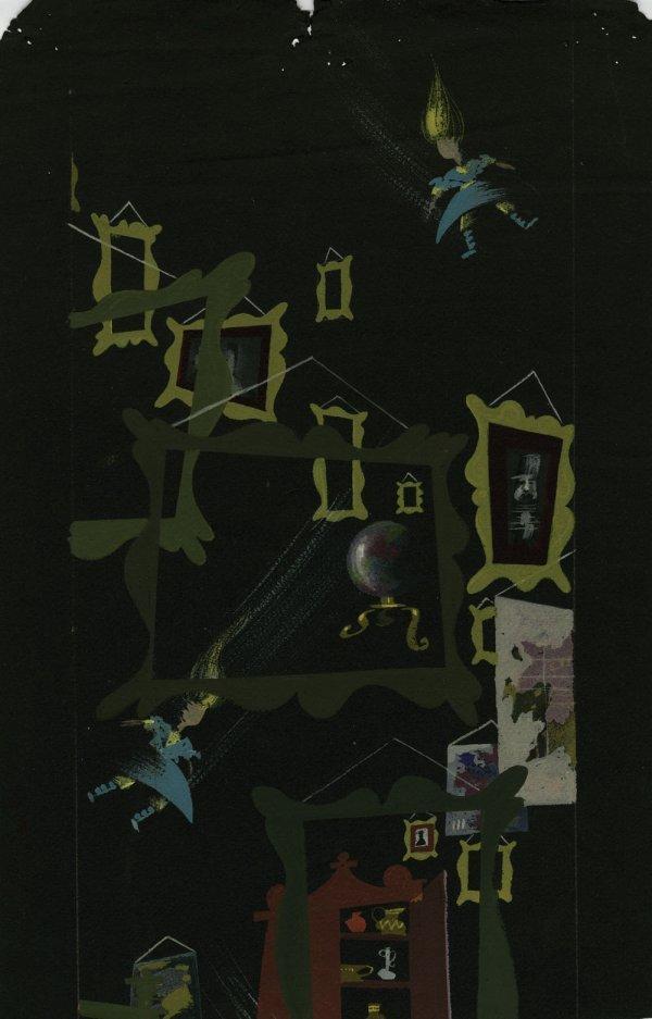 Alice in Wonderland storyboard of Alice in Rabbit Hole