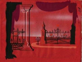 Alice in Wonderland collection of color set designs