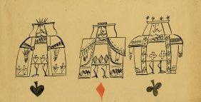 Alice in Wonderland archive of orig. character designs