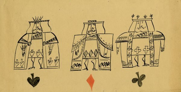 Alice in Wonderland archive of orig. character designs