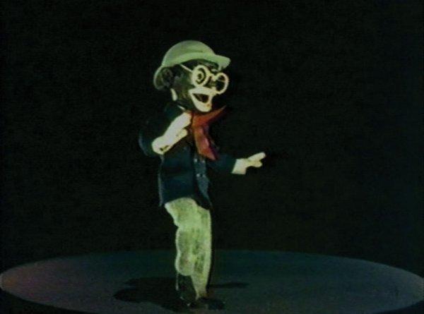 Eddie Cantor puppet from Ziegfeld Follies
