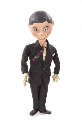 Mr. Brylcream puppet