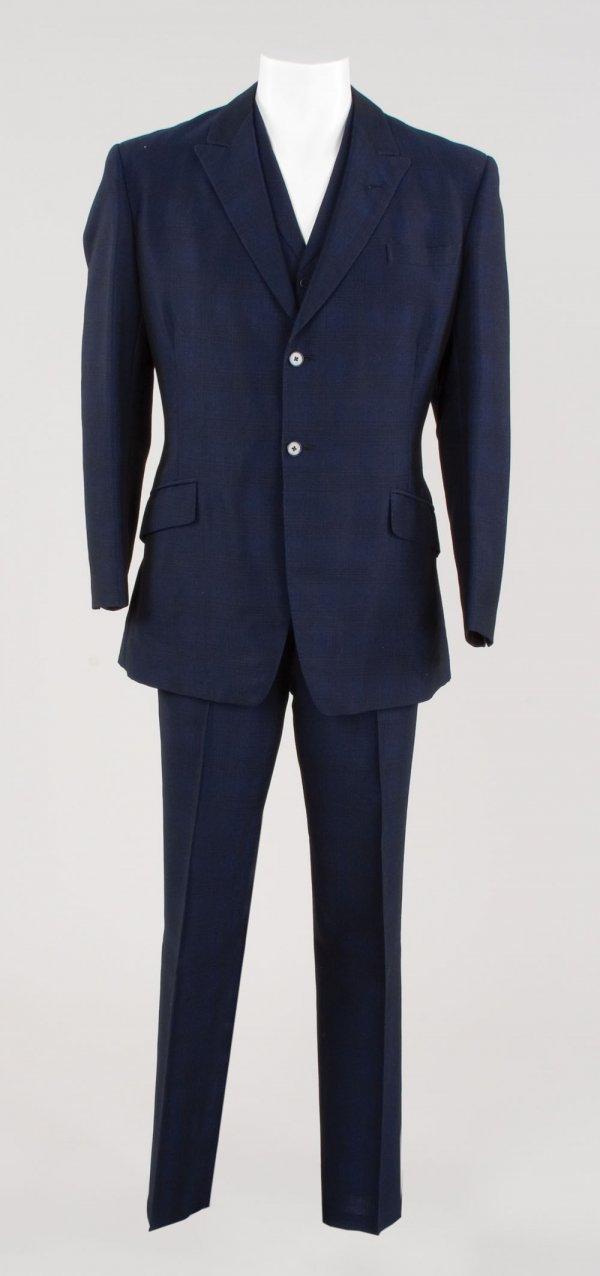 Patrick Macnee John Steed suit worn in The Avengers