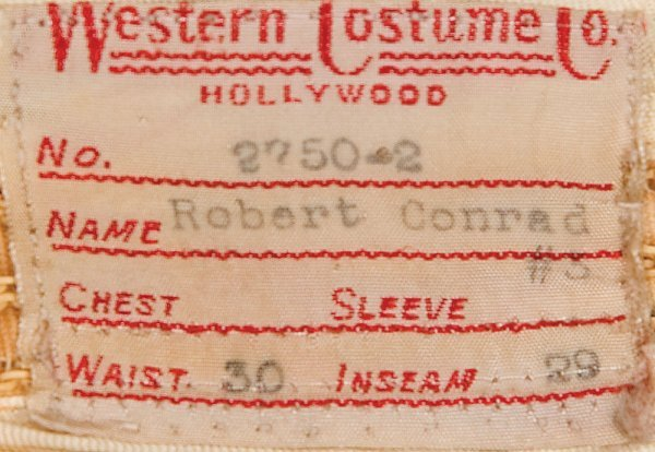 Robert Conrad costume ensemble from The Wild Wild West - 3