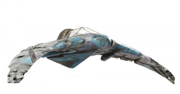 Goa'uld Death Glider Filming Model from Stargate SG-1 - 4