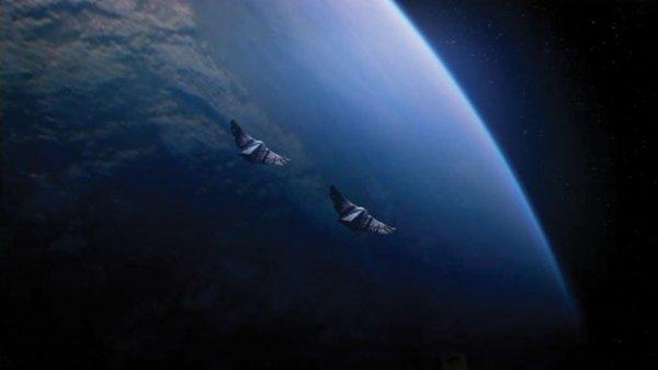 Goa'uld Death Glider Filming Model from Stargate SG-1 - 5