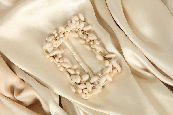 Joan Crawford silk satin wedding gown from Dancing Lady - 2