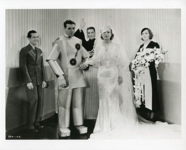 Joan Crawford silk satin wedding gown from Dancing Lady - 3