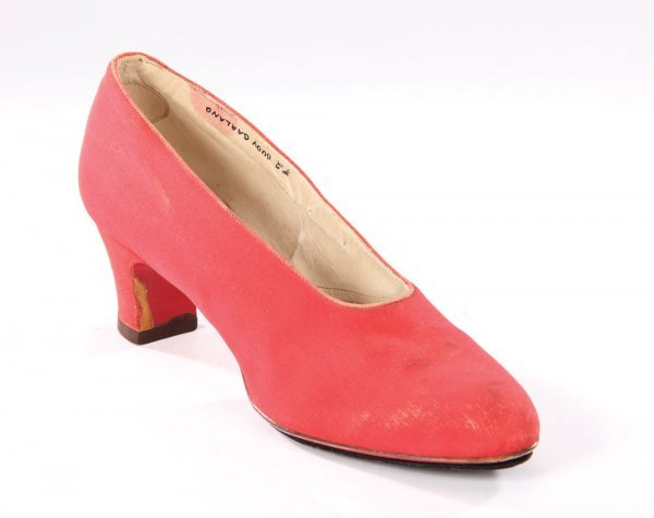 Wizard Of Oz Red Left Shoe
