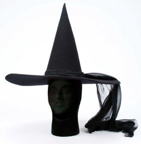 Wicked Witch of the West hat from The Wizard of Oz