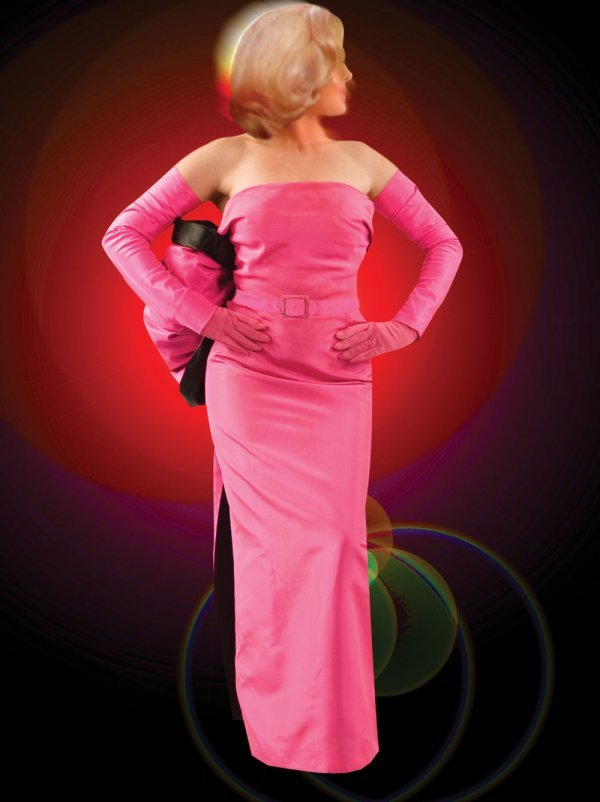 Marilyn Monroe pink gown from Gentlemen Prefer Blondes - 2