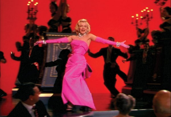 Marilyn Monroe pink gown from Gentlemen Prefer Blondes - 3