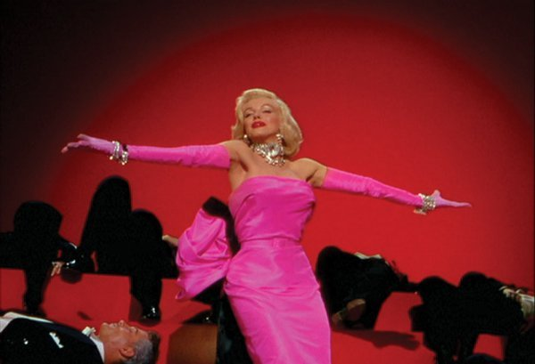 Marilyn Monroe pink gown from Gentlemen Prefer Blondes - 4