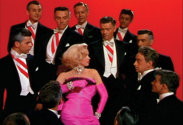 Marilyn Monroe pink gown from Gentlemen Prefer Blondes - 5