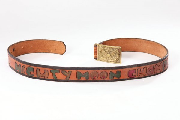 Marlon Brando Mighty Moon Champion belt - The Godfather