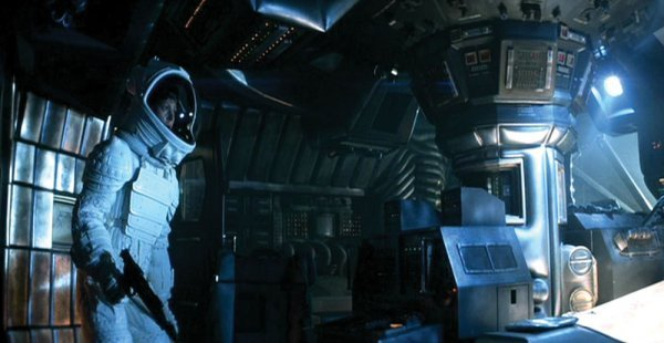 Sigourney Weaver iconic space suit armor from Alien - 2
