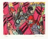 Akira Kurosawa signed limited edition prints from Ran