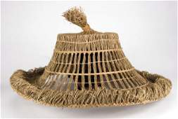 Lightning straw hat from Big Trouble in Little China