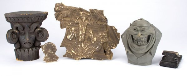 Gozer Temple pieces from final scene in Ghostbusters