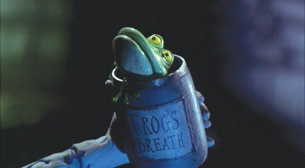 Frog's Breath jar from The Nightmare Before Christmas - 2