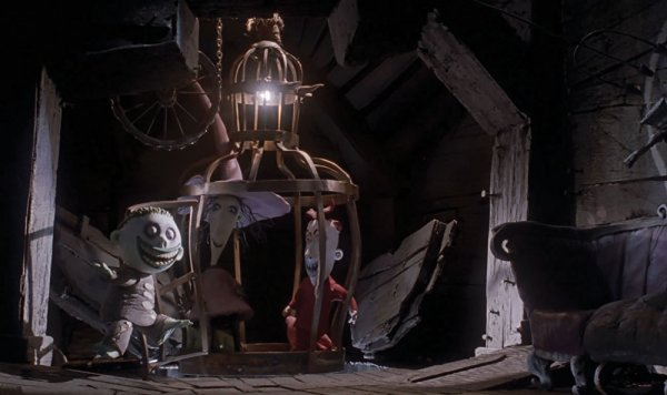 Tree House Elevator Cage The Nightmare Before Christmas