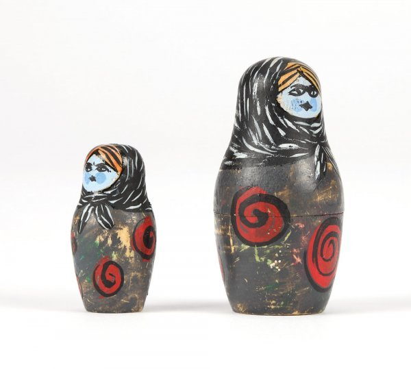 Nesting doll miniatures from Nightmare Before Christmas - 2