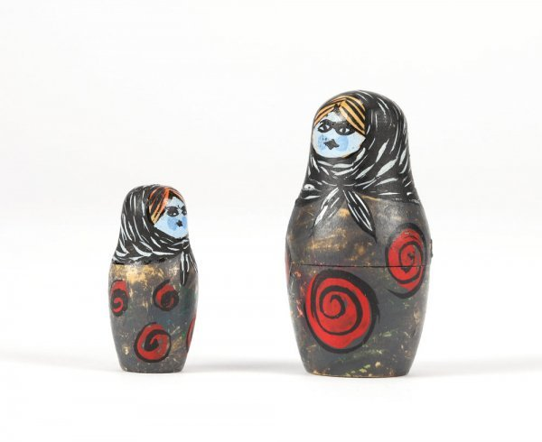 Nesting doll miniatures from Nightmare Before Christmas - 3