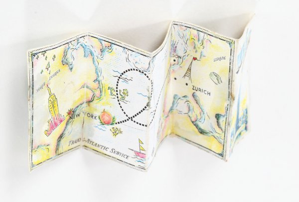 Miniature map used by James in James & the Giant Peach - 2
