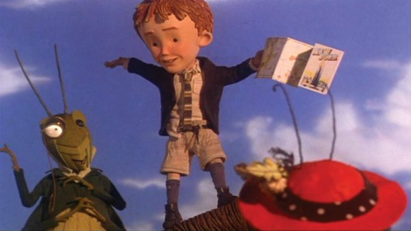 Miniature map used by James in James & the Giant Peach - 5