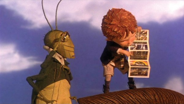 Miniature map used by James in James & the Giant Peach - 6