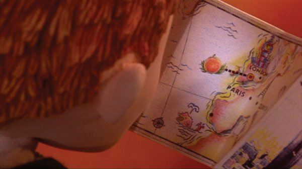 Miniature map used by James in James & the Giant Peach - 7
