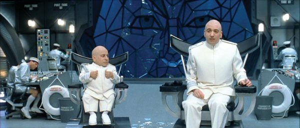 Dr. Evil motorized chairs - Austin Powers in Goldmember
