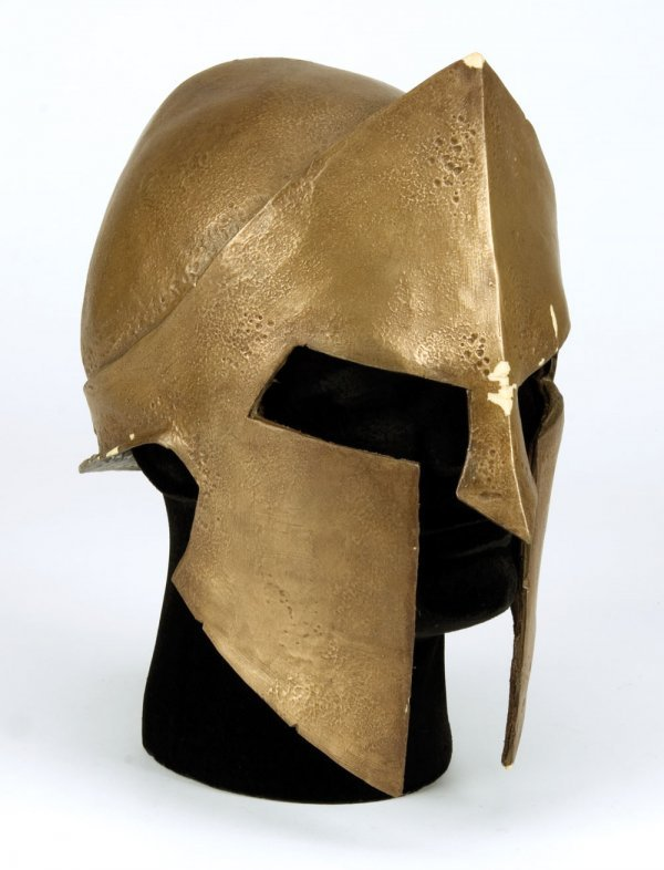 David Wenham Dilios hero Spartan helmet from 300