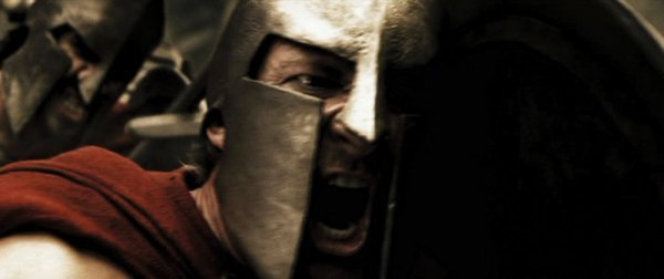 David Wenham Dilios hero Spartan helmet from 300 - 3