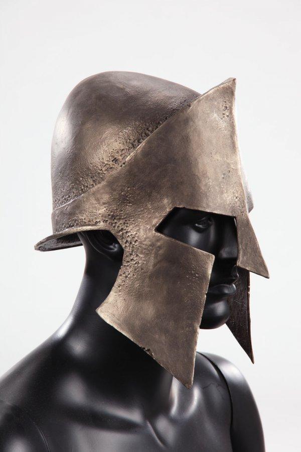 Spartan helmet & shield from 300