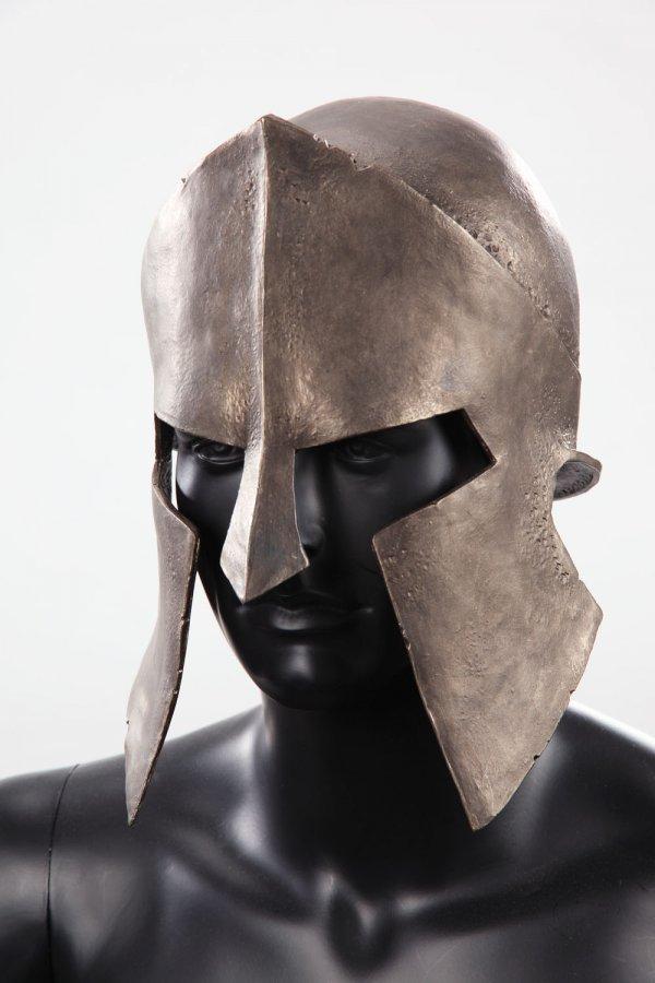Spartan helmet & shield from 300 - 2