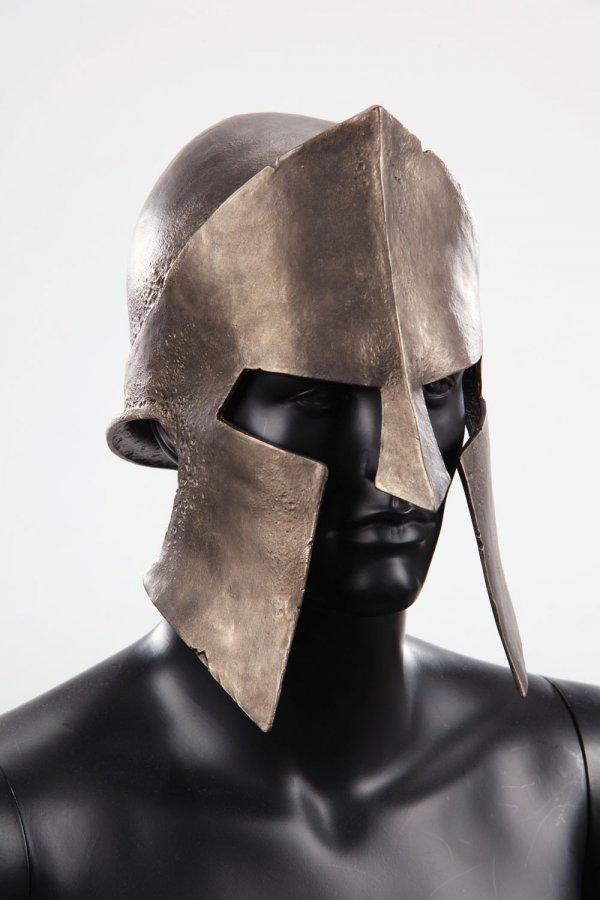 Spartan helmet & shield from 300 - 4