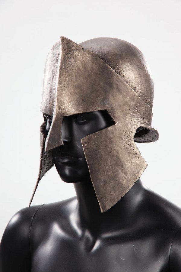 Spartan helmet & shield from 300 - 5