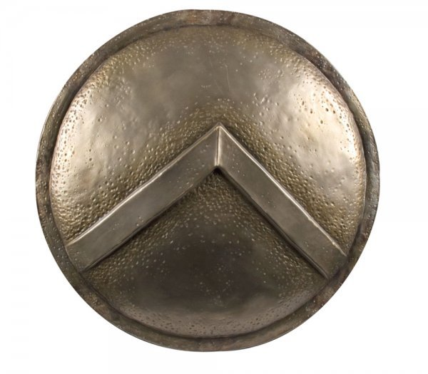 Spartan helmet & shield from 300 - 6