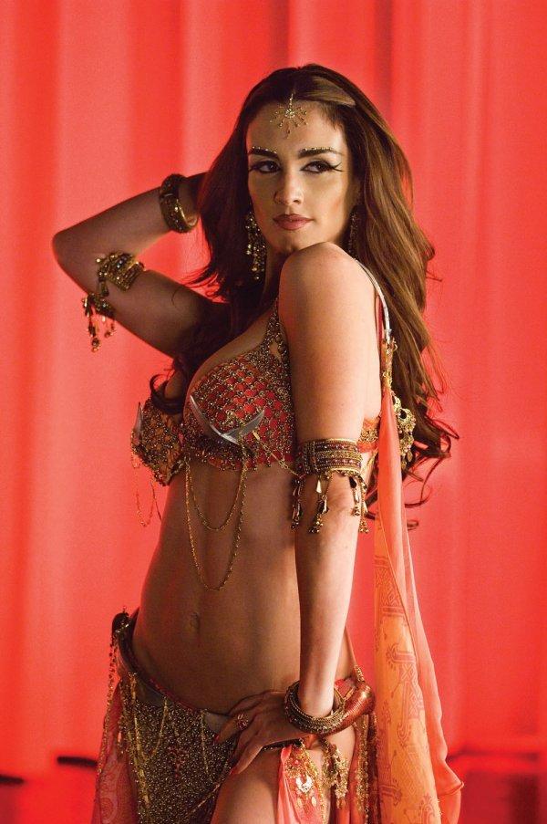 Paz Vega exotic belly dance costume from The Spirit - 3