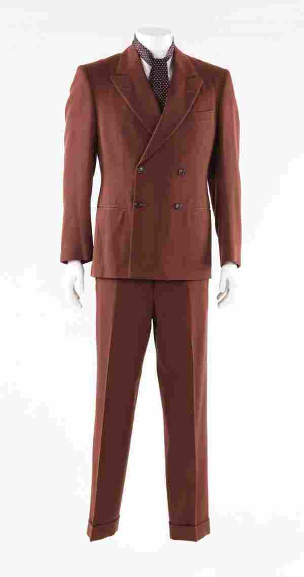 John Dillinger brown suit & tie from Public Enemies