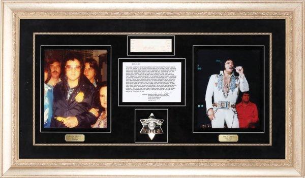 Elvis Presley's Chicago Police badge - 3