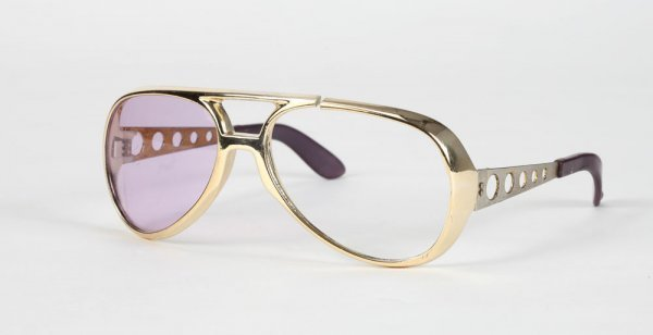 Elvis Presley's signature gold aviator sunglasses - 2