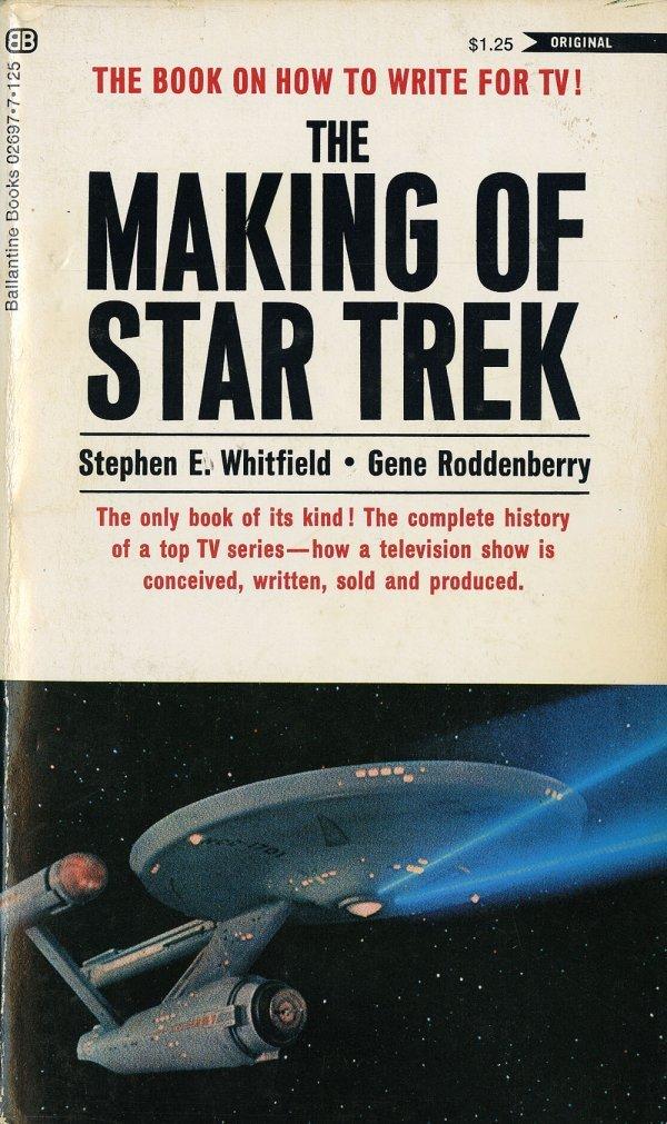 Making of Star Trek book signed by Gene Roddenberry etc