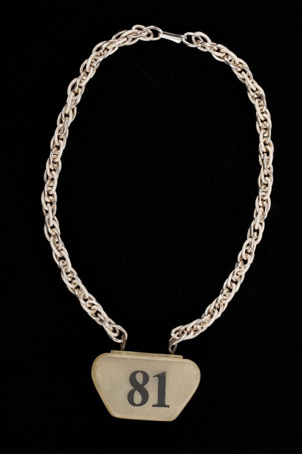 Android necklace from Star Trek: The Original Series