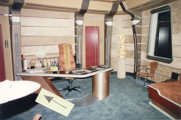 Patrick Stewart Mintaken Tapestry from Star Trek TNG - 2