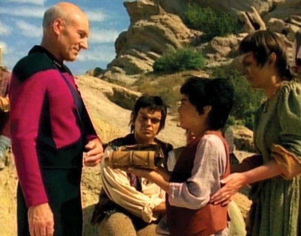Patrick Stewart Mintaken Tapestry from Star Trek TNG - 3
